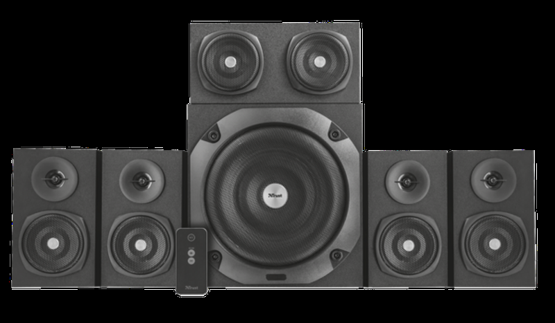 Колонки Trust Vigor 5.1 Surround Speaker System Black - Фото 2