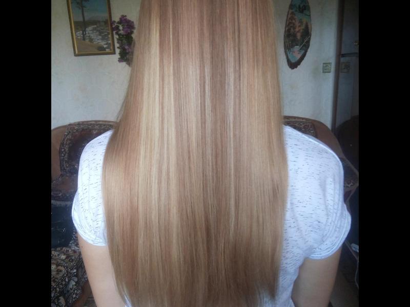 Полировка волос + оформление кончиков