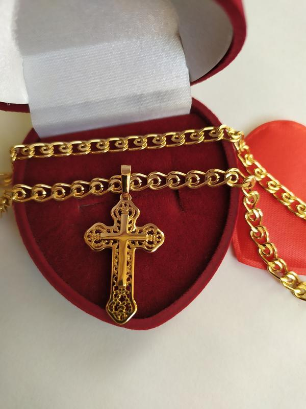 Набор цепочка крестик