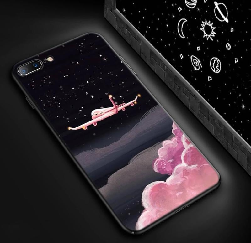 Новый чехол на айфон iphone 7 и 8 с самолетом