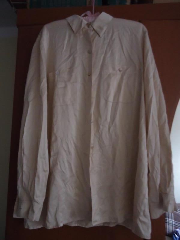 Роскошная шелковая блуза marina rinaldi