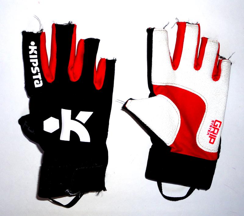 Велосипедные перчатки kipsta р.s-m