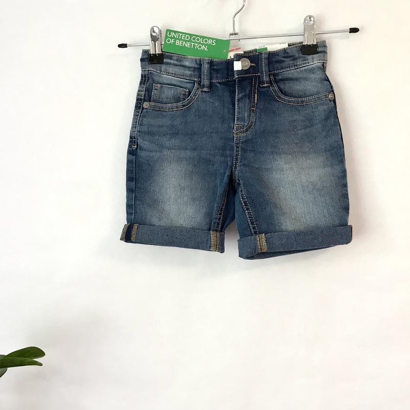 Джинсові шорти / джинсовые шорты benetton