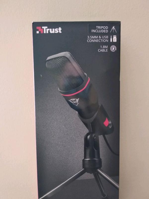 Микрофон Trust GXT 212