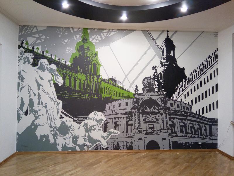 Роспись интерьера, Дрезден. - Фото 13