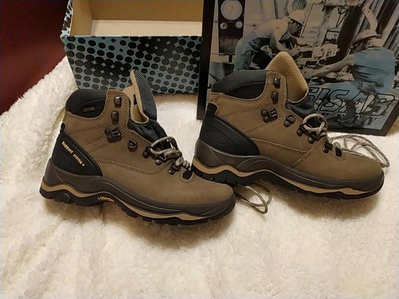 Строительные тяжелые мужские ботинки итальянской марки ... - Фото 3