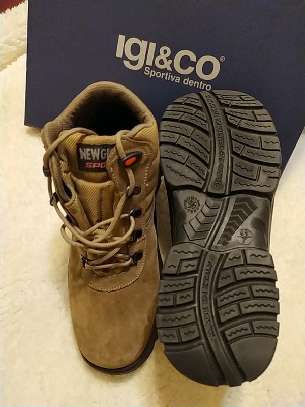 Новые замшевые ботинки марки new gisab италия - Фото 3