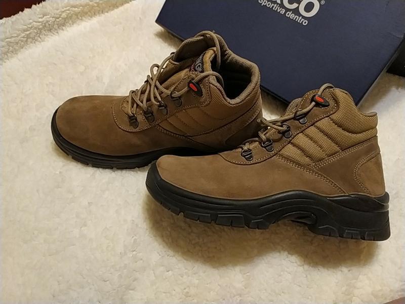 Новые замшевые ботинки марки new gisab италия - Фото 5