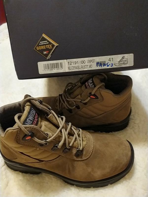 Новые замшевые ботинки марки new gisab италия - Фото 6