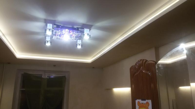 Натяжной потолок. Выравнивание потолков.