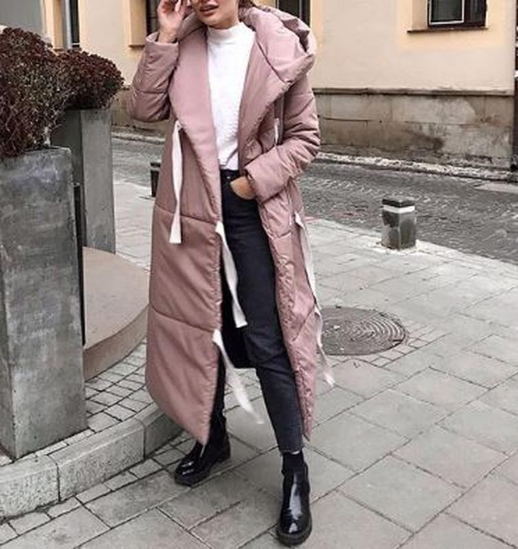 Куртка зимняя пальто karree пуховик на запах