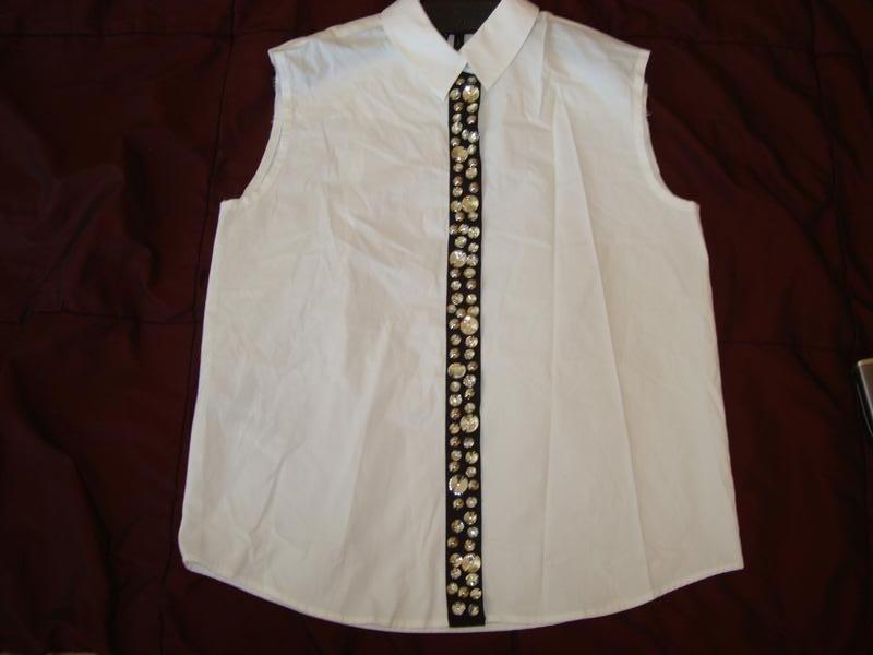 Нарядная женская блузка mango