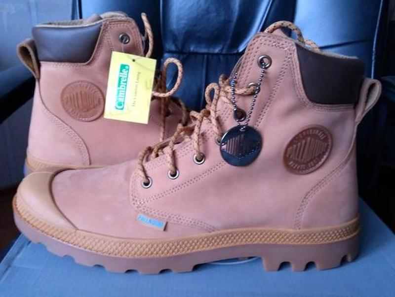 Ботинки palladium мужские кожаные оригинал из сша - Фото 2
