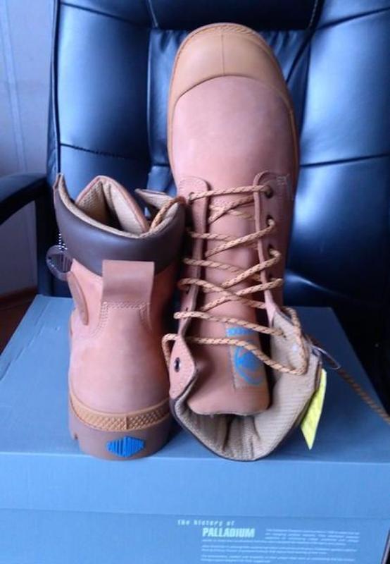 Ботинки palladium мужские кожаные оригинал из сша - Фото 3