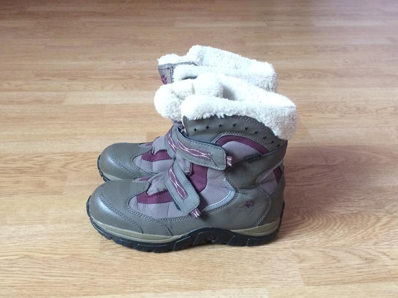 Зимние термо ботинки jack wolfskin оригинал 36 размера
