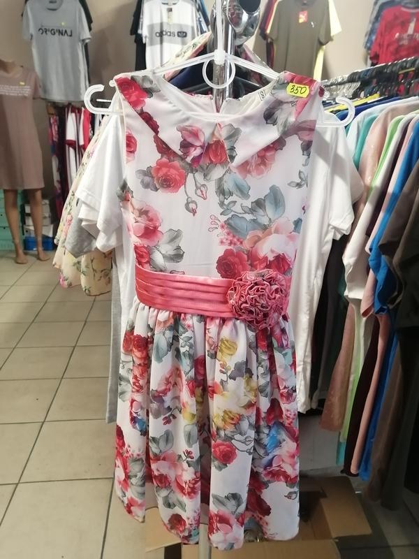 Платья для девочки шифоновое