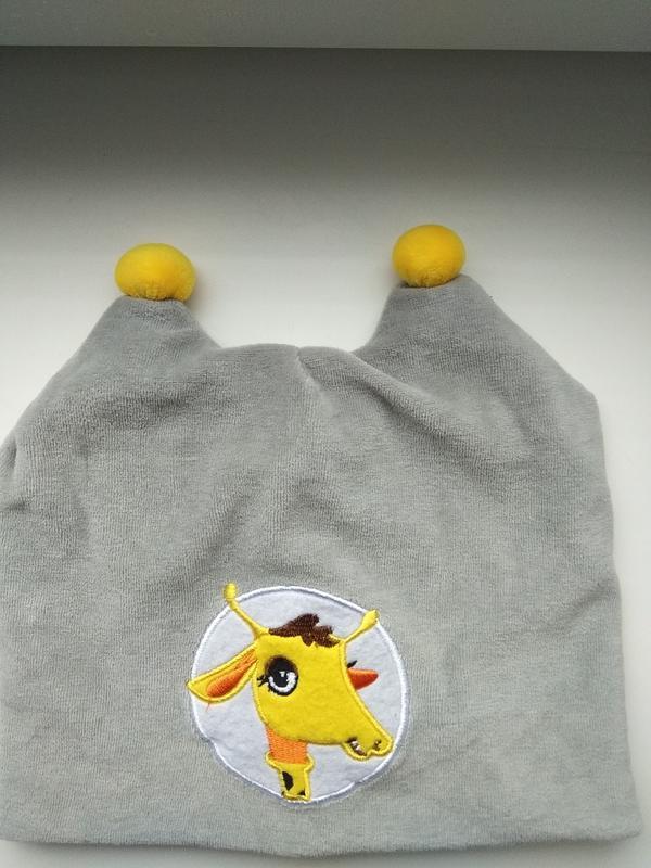 """Акция!!! скидка 20%классная шапочка""""жираф"""""""