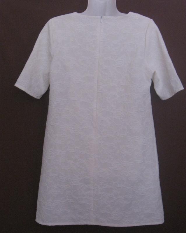 Платье женское белое букле, мини. 42р-р. классное. - Фото 3