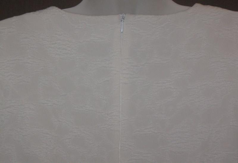 Платье женское белое букле, мини. 42р-р. классное. - Фото 4