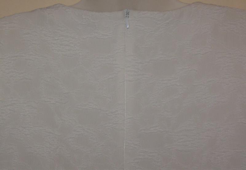 Платье женское белое букле, мини. 42р-р. классное. - Фото 5