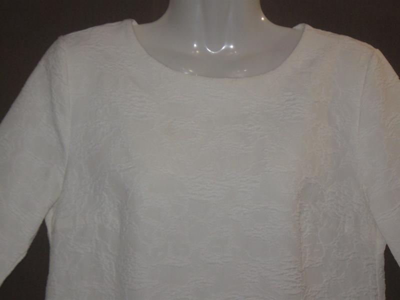 Платье женское белое букле, мини. 42р-р. классное. - Фото 7