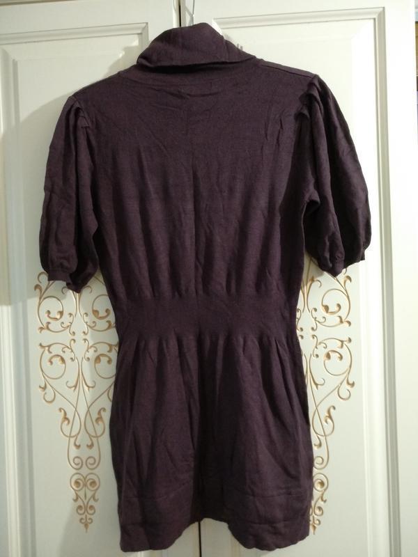 Тёплое платье mango - Фото 3