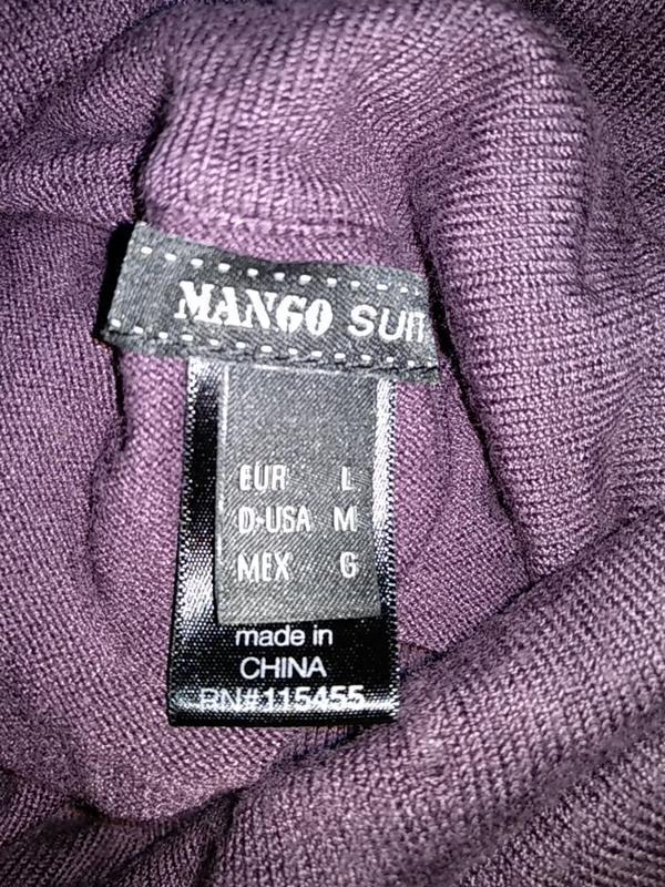 Тёплое платье mango - Фото 4
