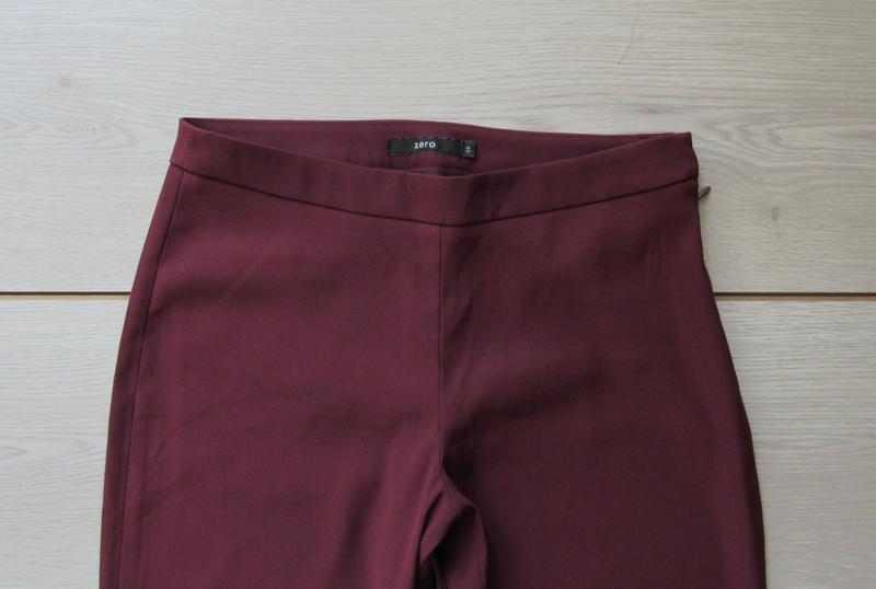 №158 брюки кюлоты цвета марсала от zero - Фото 4