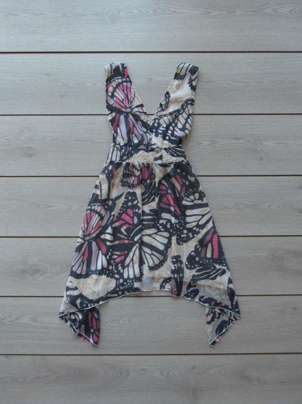 №7 сарафан платье в принт с бабочками от atmosphere