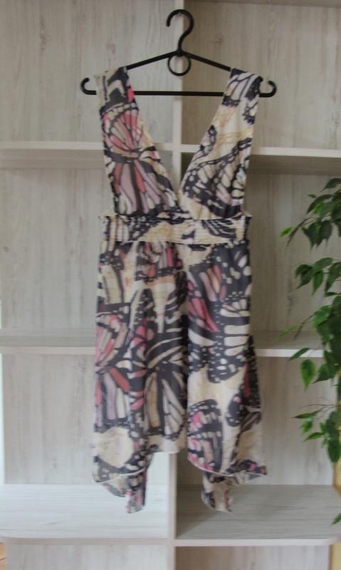 №7 сарафан платье в принт с бабочками от atmosphere - Фото 2