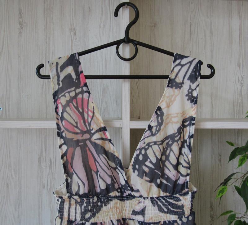 №7 сарафан платье в принт с бабочками от atmosphere - Фото 3