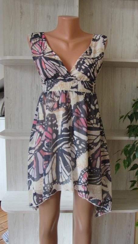 №7 сарафан платье в принт с бабочками от atmosphere - Фото 4