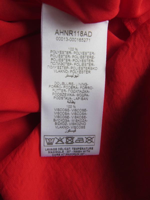 №19 новое яркое красное платье сарафан от naf-naf - Фото 5