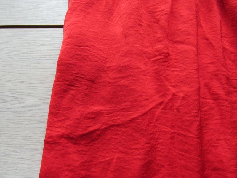 №19 новое яркое красное платье сарафан от naf-naf - Фото 6