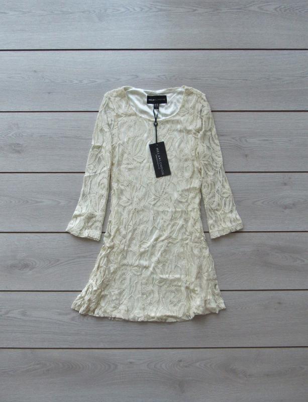 №27 новое ажурное гипюровое нежное платье от mila london - Фото 6