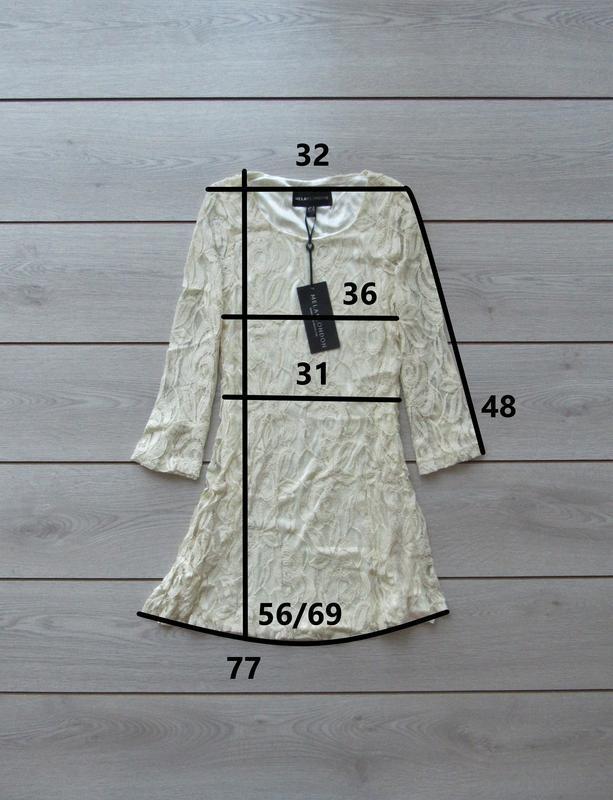 №27 новое ажурное гипюровое нежное платье от mila london - Фото 8