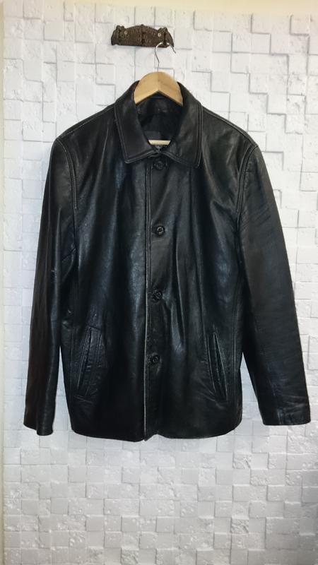 Куртка tz polger мужская из натуральной кожи