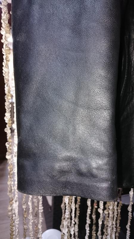 Куртка tz polger мужская из натуральной кожи - Фото 2