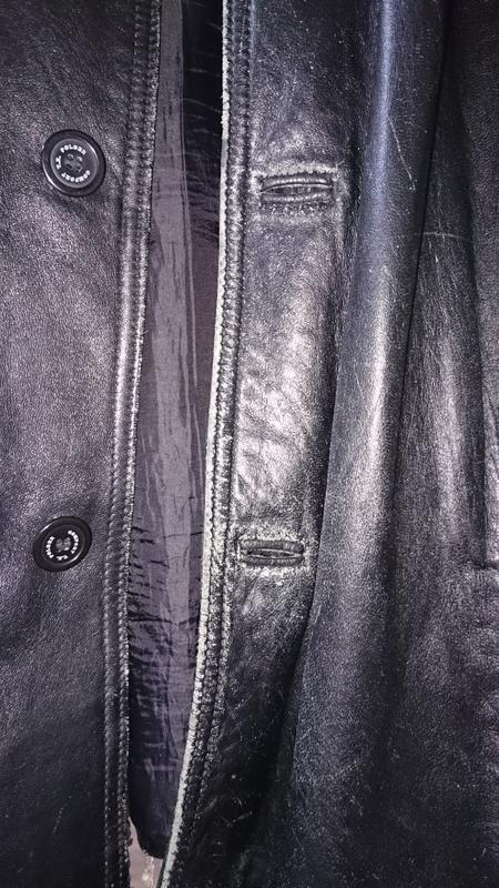 Куртка tz polger мужская из натуральной кожи - Фото 4