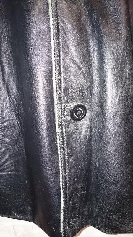 Куртка tz polger мужская из натуральной кожи - Фото 6