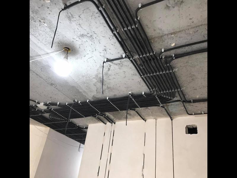 Замена электропроводки .Демонтаж старой электропроводки.Монтаж...