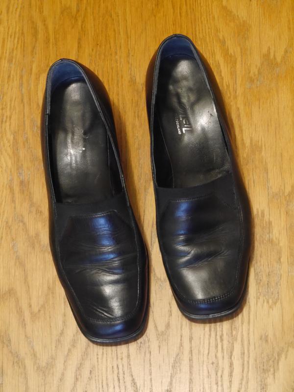 Туфлі шкіряні розмір 40  bleil