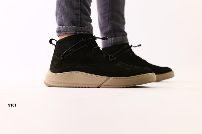 Lux обувь! идеальные зимние натуральные ботинки, не только тёп...