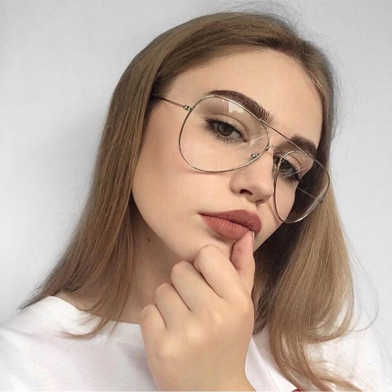 Имиджевые очки авиаторы капельки нулевки стильные в металличес...