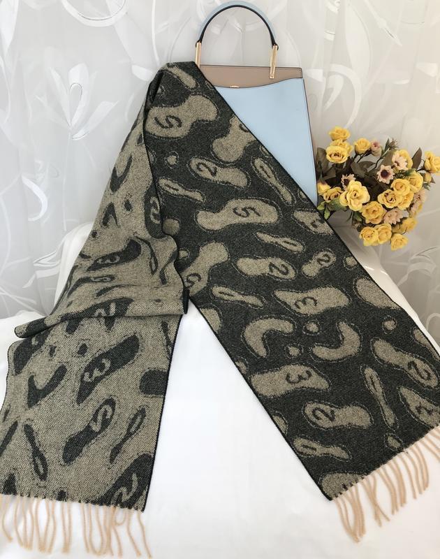 Двухсторонний ♥️👑♥️ шерстяной шарф великобритания.