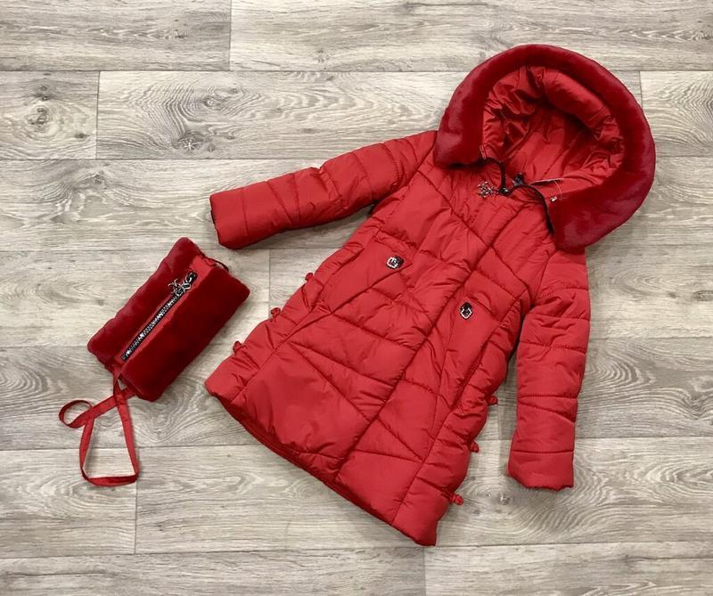 Великолепное тёплое зимнее пальто, новинка зима 2020