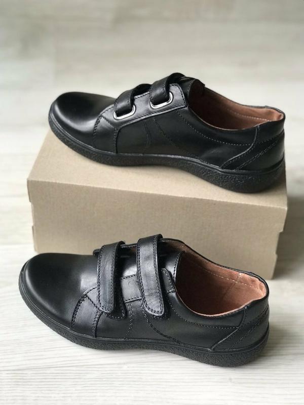 Кожаные мокасины, туфли