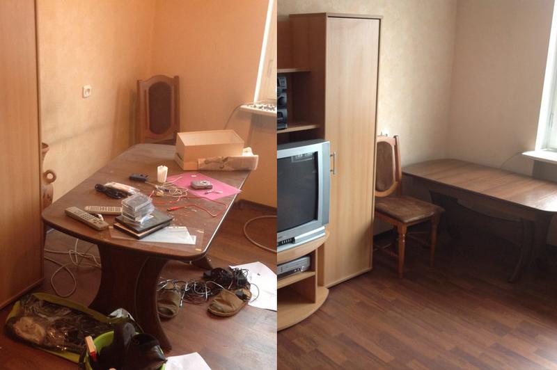 Обычная уборка квартиры в Харькове