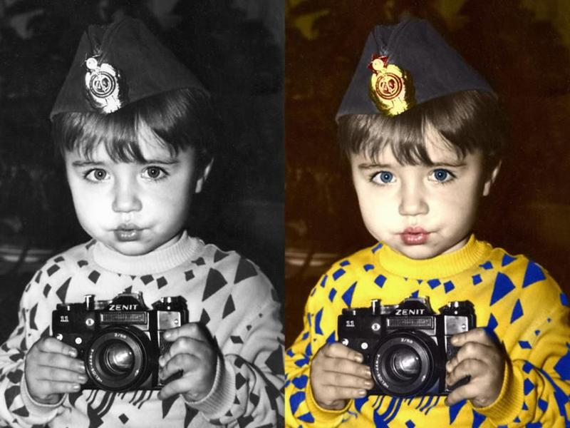 Ретушь фото и другие манипуляции с изображениями, картины Поп... - Фото 2