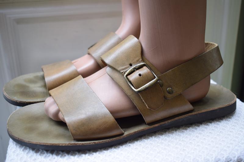 Кожаные босоножки сандали сандалии италия р.43